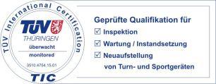 TÜV Thüringen - Geprüfte Qualität